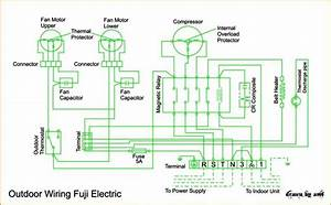 Wiring Diagram Ac Cassette Fuji Electric