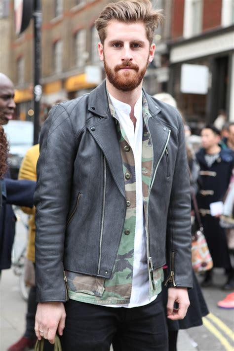 Street Style Leather Jackets For Men | WardrobeLooks.com