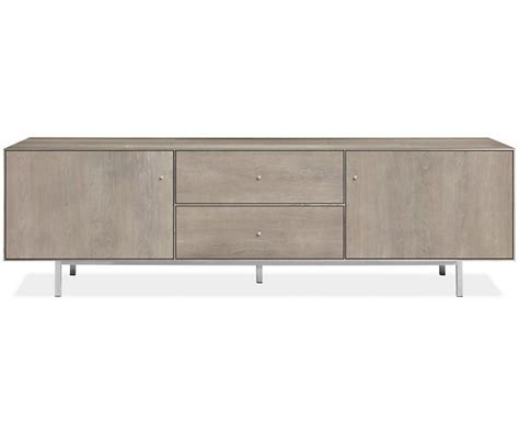 Room & Board-hudson H W Media Cabinet With Steel