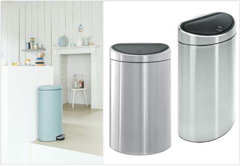 poubelle de cuisine brabantia poubelle design cuisine chaios com