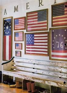 this entry hall should be called minimalist americana i With kitchen cabinets lowes with vintage american flag wall art