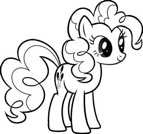 pony coloring pages  girls print