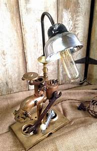 Industrial Edison Lights Vintage Industrial Style Table Lamp Long Tube Light