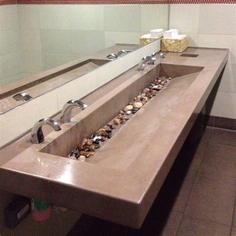 trough bathroom sink trough sink sinks