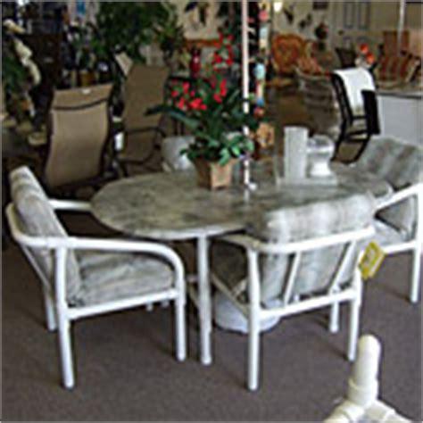pvc patio furniture decoration access