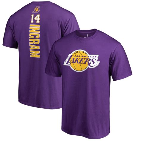 Brandon Ingram Los Angeles Lakers Fanatics Branded Backer ...