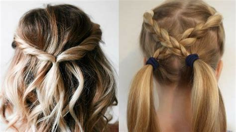 quick and easy hairstyles hairstyle tutorial compilation