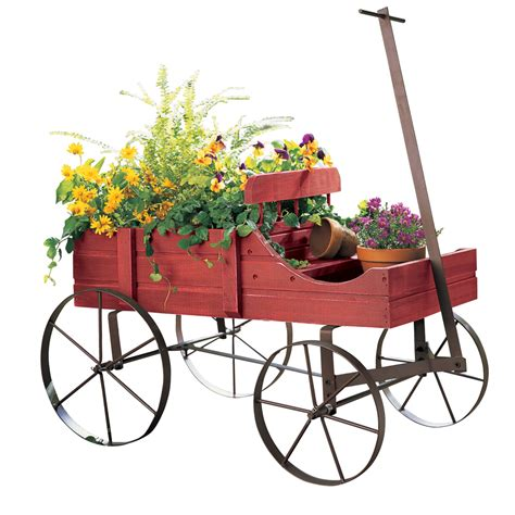 amish wagon decorative garden planter by collections etc