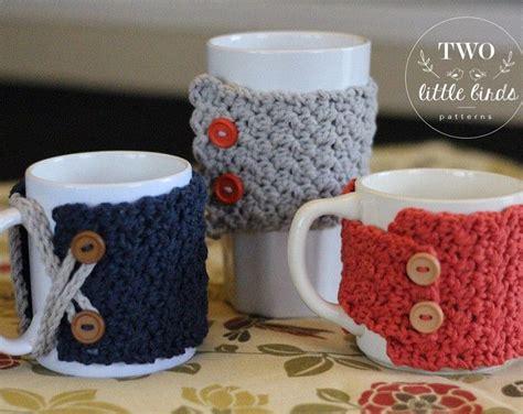 Best 25+ Crochet Mug Cozy Ideas On Pinterest