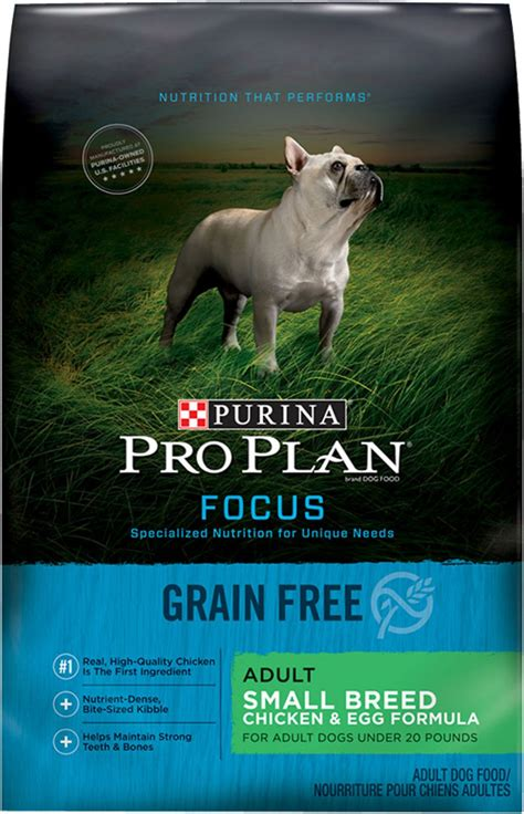 purina pro plan focus small breed chicken egg formula