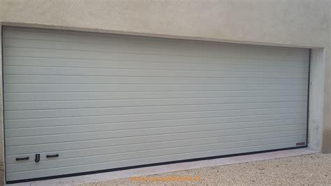 hörmann spu f42 installation d une porte de garage sectionnelle motoris 233 e