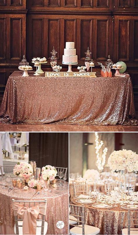 2019 Wedding Trends: Chic Rose Gold Wedding Ideas Rose