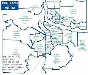 Map Of Greater Portland Oregon Metro Area Pictures to Pin ...