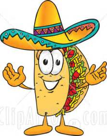 Mexican Cartoon Taco