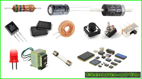 Electronic Components Function Basic Parts