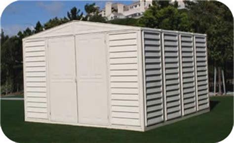 woodbridge 10x10 duramax vinyl storage shed kit 00481