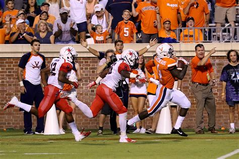 list game preview virginia football hosts