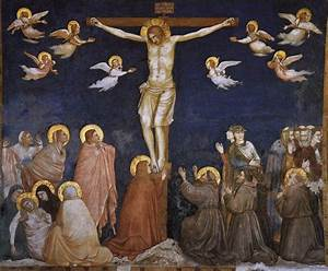 The Crucifixion - Giotto - WikiArt.org - encyclopedia of ...