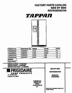 Tappan Tappan  Sxs Refrigerator