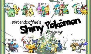 Pokemon Shiny Starter Pokemon Final Evolutions Images ...