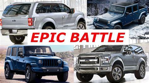 ford jeep 2020 2020 ford bronco vs 2020 jeep wrangler