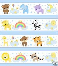 Zoo Animal Wallpaper Borders - jungle border wallpaper wall coverings ebay