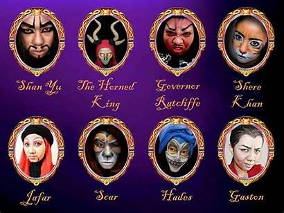 Disney Villains Makeup Males Villain Male King
