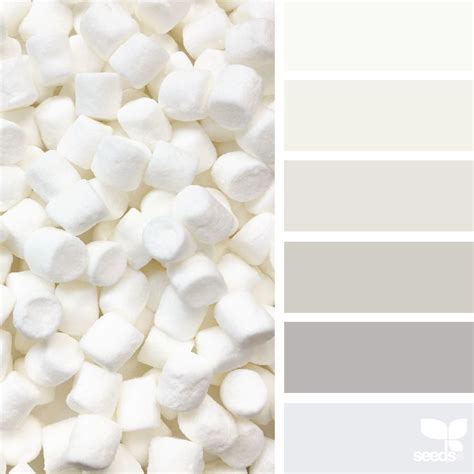 white is a color marshmallow tones design seeds design seeds colour