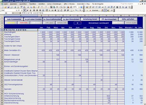 einnahmen und ausgaben finanzplan  excel openpr