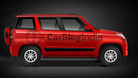 indian car mahindra mahindra tuv500 rendering carblogindia