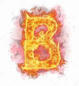 Fire letter B — Stock Photo © jag_cz #8954489