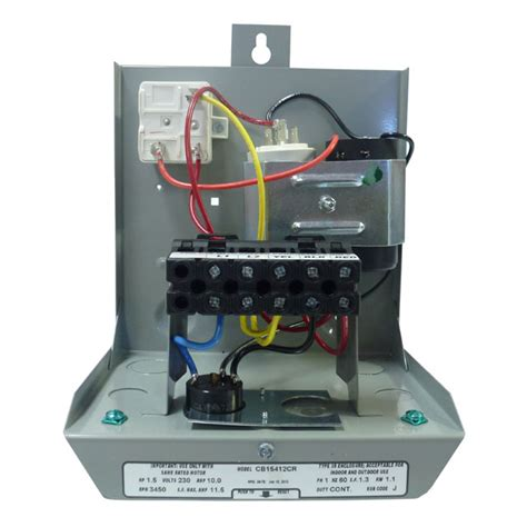 goulds control box   wire hp  motors