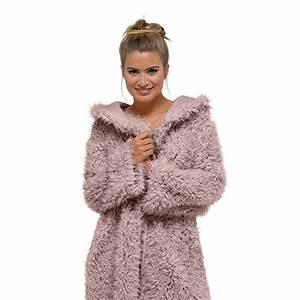 foxbury women39s lion fleece fluffy hooded bath robe ebay With robe lion