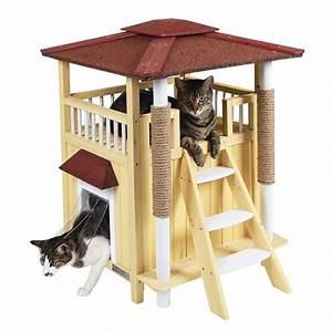 Maison Pour Chat Extérieur : maison toskana niche maison pour chat kerbl wanimo ~ Premium-room.com Idées de Décoration