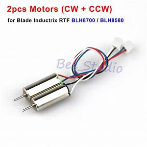 2pcs Cw Ccw Motor Engine For Blade Inductrix Blh8700