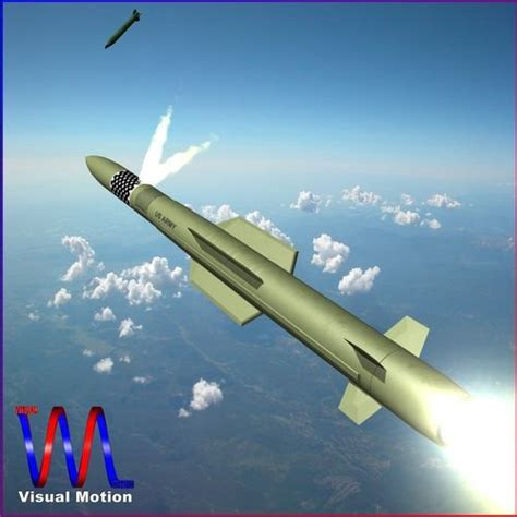 3d Model Mim-104f Pac-3 Mse Missile Vr / Ar / Low-poly Obj