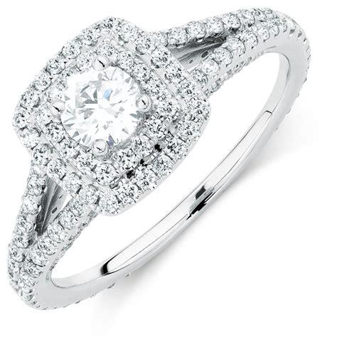 wedding rings michael hill sir michael hill designer grandarpeggio engagement ring with 0 95 carat tw of diamonds in 14kt