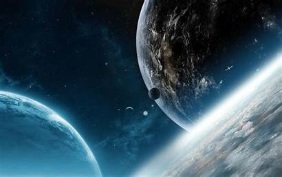 Sci Fi Planets Space Wallpapers Desktop Planet