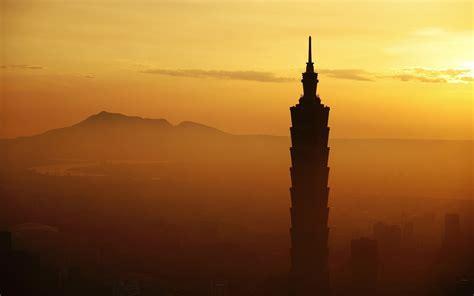 Sunrise, Taipei 101, Architecture, Cityscape, City