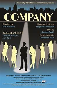 Usi Theatre Presents The Musical  U0026quot Company U0026quot