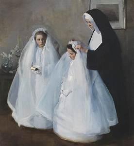 Elizabeth Nourse (1859–1938), The First Communion (La ...