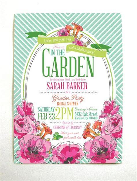 best 25 garden invitations ideas on