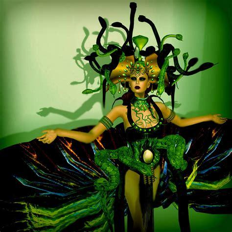 Nice Wildrose-On the Catwalk: Fatal Medusa