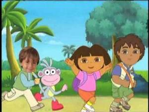 """Dora, Diego and Me """"Personalised DVD"""" from Kideo.co.uk ..."""