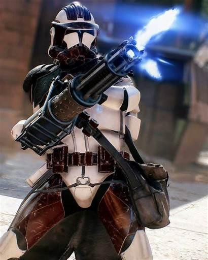 Clone Trooper Wars Star Battlefront Heavy Clones