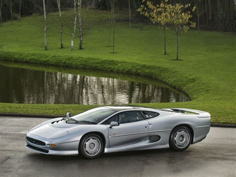jaguar silver stunning silver jaguar xj220 available for purchase in the