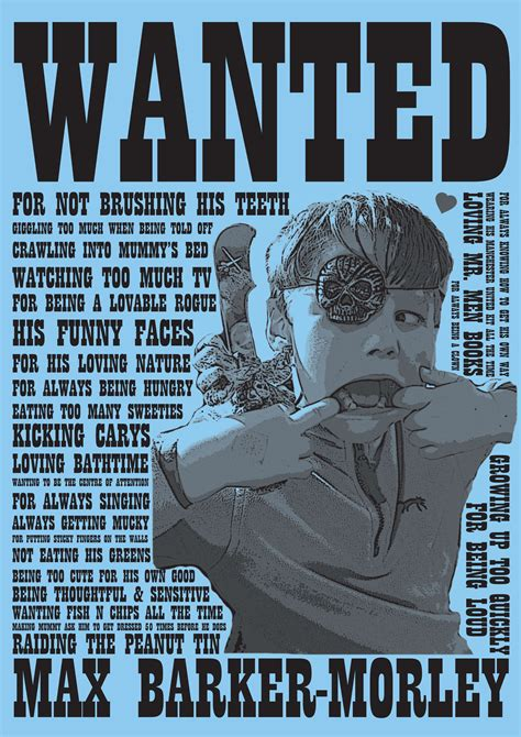 Wanted Poster | Say It With Words