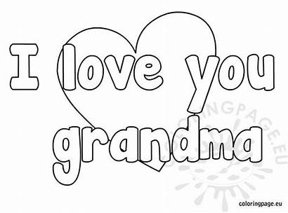 Grandma Coloring Pages Mother