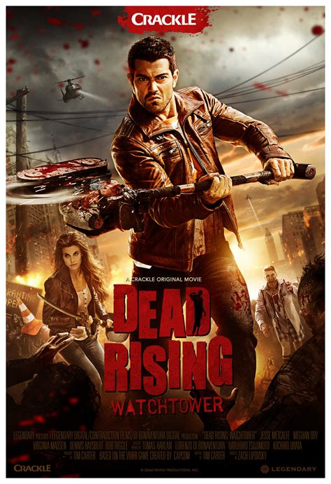 Dead Rising: Watchtower Slices Up a New Poster - IGN