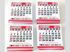 Calendários 2019 Personalize Fácil Elo7